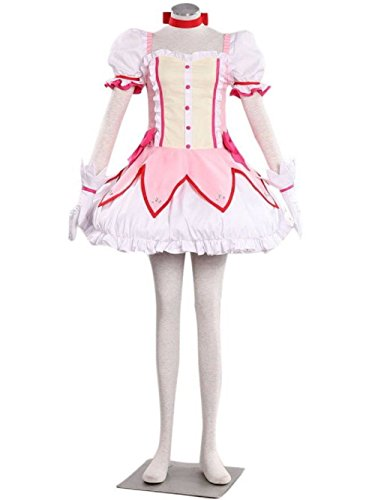 [Smile Style Puella Magi Madoka Magica Kaname Cosplay Costume-Made] (Puella Magi Madoka Magica Madoka Kaname Cosplay Costume)