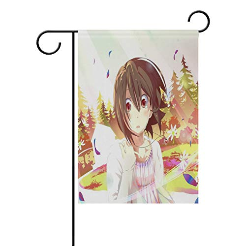 Pingshoes Customized Easter Anime Wallpaper Garden Flag Indoor & Outdoor Decorative Flags for Parade Sports Game Family Party Wall Banner Season Porch Lawn 12