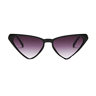 Beaums Gafas de sol unisex triangulares Mujer Hombre Chicas Masculino Personalidad Anteojos Gafas triangular
