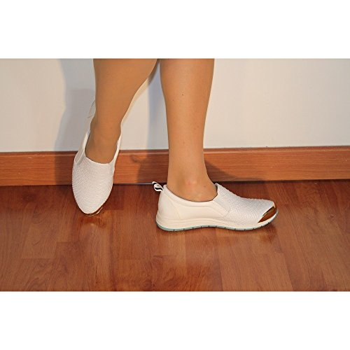 Bi Sneakers Importa Zeppa Donna Punta Bianco D'oro HExFBnq