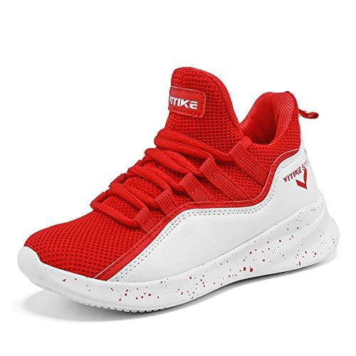 Enfants Basket D'extrieur 6 Chaussures Pour ball rouge Elaphurus Bottes Garons Montantes De Unisexe Basket Baskets Zq5PwR5