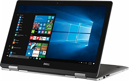 2017 Newest Dell Inspiron 7000 2-in-1 Convertible 15.6 inch Full HD Touchscreen Flagship Premium Laptop PC, Intel Core i5-7200U Dual-Core, 8GB DDR4, 256GB SSD, Stereo Speakers, Windows 10