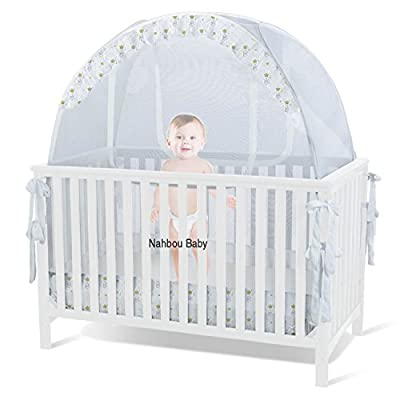 Self Proping Crib Safety Net or Crib Tent
