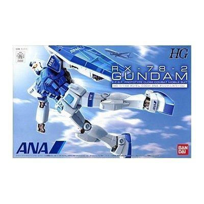 ANA [limited] HG 1 144 RX-78-2 Gundam Ver.G30th ANA original colore Ver.  Plastic  (japan import)