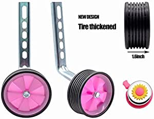 MOSHAY Training Wheels for Children/'s Bicycle stabiliser for 14 16 18 20 inch...