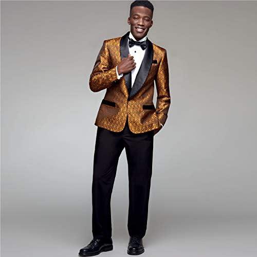 blanc divers pantalon et n/œud papier Simplicity S8899 Patron de couture pour homme Tuxedo veste