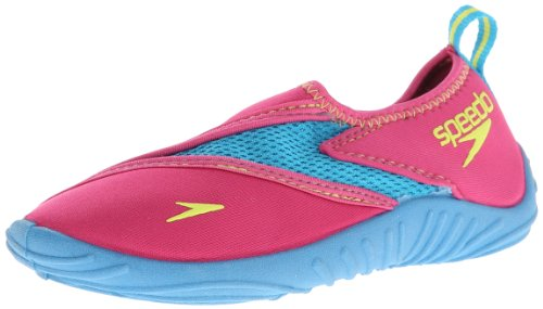Speedo Little Kid/Big Kid Surfwalker,Fuchsia/Hawaiian Ocean,