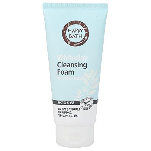 AMOREPACIFIC HAPPY BATH WHITE CLAY CLEANSING FOAM 1EA