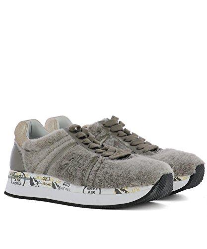 Sneakers Beige Donna Premiata Pelle Conny2612 TzqzC7
