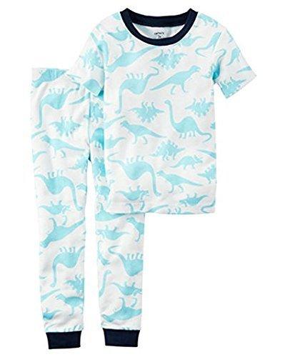 (Carter's Little Boys' 2-Piece Snug Fit Cotton PJs, Dinosaurs (12 Month) )