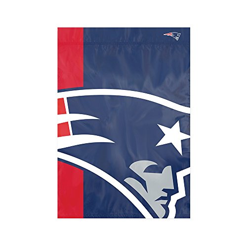 Party Animal New England Patriots NFL Dye Sublimated Bold Logo Garden Flag