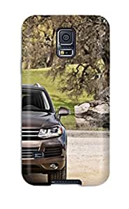linfenglinDefender Case For Galaxy S5, Volkswagen Touareg 35 Pattern