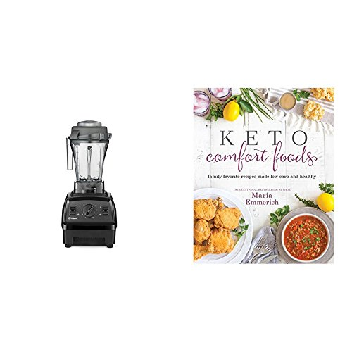 Keto Comfort Foods & Vitamix E310 Explorian Blender, Black
