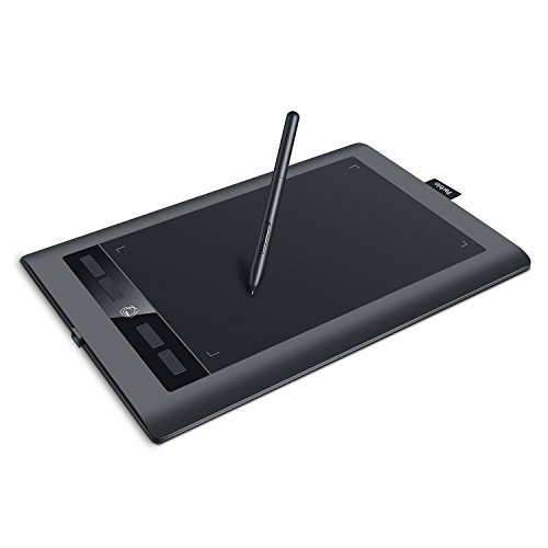 Parblo Island A610 s 10x6 inches Digital Graphic Pen Tablet 8192 Levels Pressure 5080 LPI Resolution Drawing Painting Board with Battery-free Pen