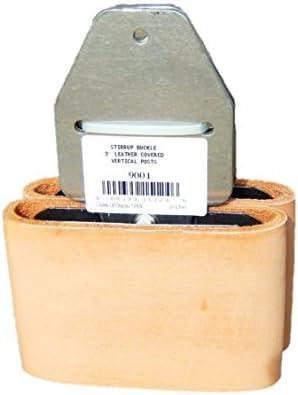 "Weaver Leather Blevins Stirrup Buckles Leather 3/"" Aluminum Pair"