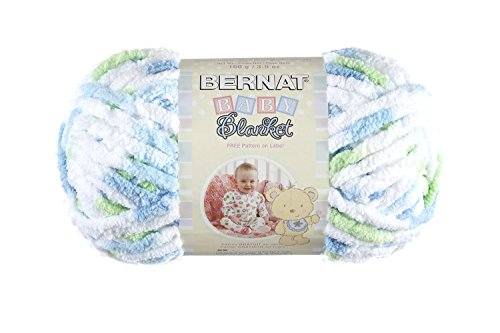 Bernat Baby Blanket Yarn, Funny Prints, Single (Blanket Yarn)