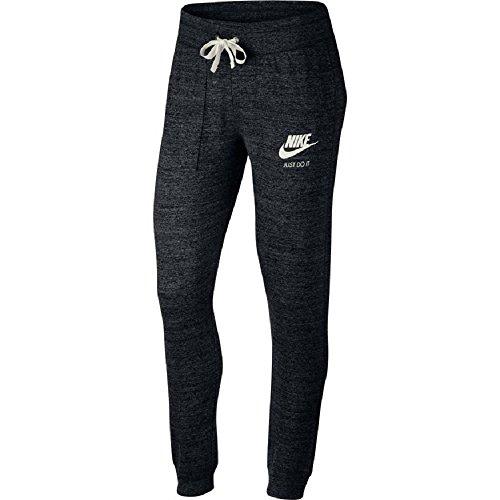 Nike Womens Gym Vintage Pants Black/Sail 883731-010 Size Medium ()