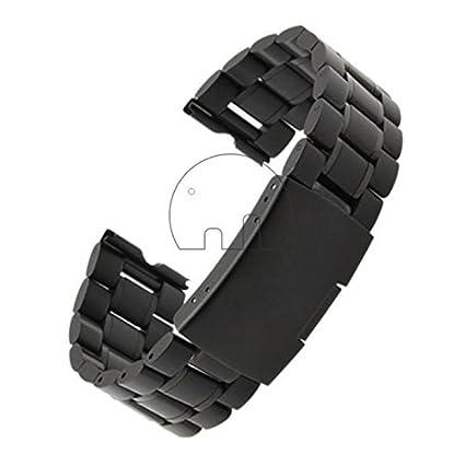 GoldenTrading 22mm acero inoxidable reloj banda correa para reloj inteligente de Motorola Moto 360 + herramientas