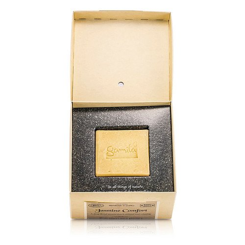 Gamila Secret by Cleansing Bar - Jasmine Comfort (For Normal to Combination Skin) --115g for WOMEN ---(Package Of 5)
