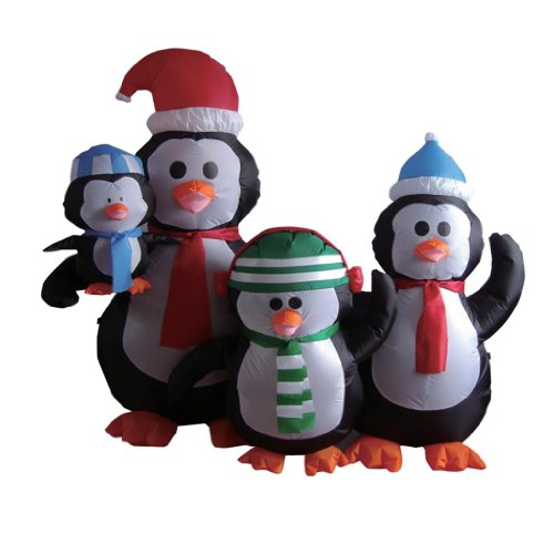 5 Foot Penguins Family