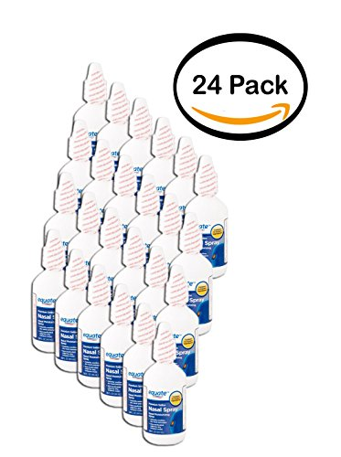 PACK OF 24 - Equate Saline Nasal Spray, 1.5 oz by Equate