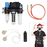 Supplied Air System For Spraying Respirator Gas Mask----Mask Not Included, Fit Bayonet Connection Mask, Smooth Breathing