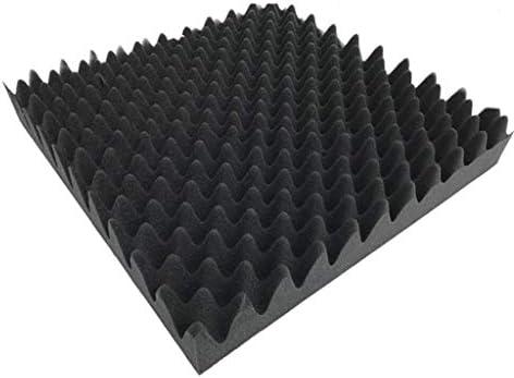 10ピース多目的音響パネル防音、ktvレコーディングスタジオピアノルーム寝室屋内環境保護吸音綿 (Color : 10 pcs)