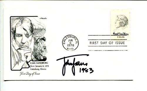 John Jakes Historical Author Rare Signed Autograph FDC from HollywoodMemorabilia