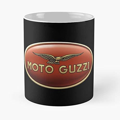 Moto Guzzi Logo Motorbike Motorcycle - Best Gift Ceramic Coffee Mugs 11 Oz