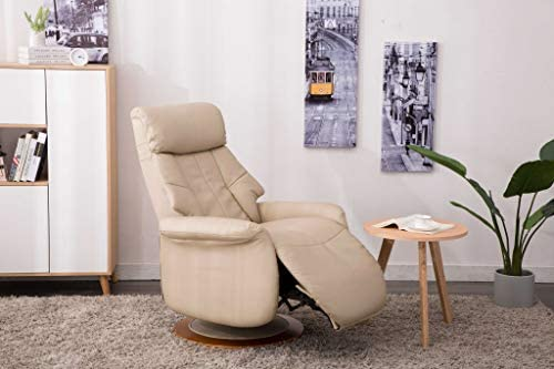 Comfort Chair Company Comfort Chair by Mac Motion Oscar Recliner Cobble Air Leather, Tan