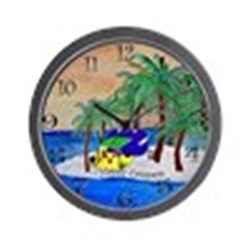 CafePress – Happy Campers Wall Clock – Unique Decorative 10″ Wall Clock Review