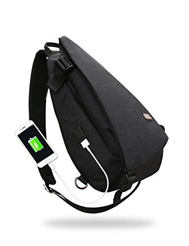 Markryden Sling Bag Shoulder Chest Cross Body backpack Lightweight Casual Daypack for Women Men