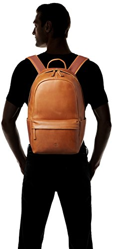 Timberland Men's Tuckerman Leather Backpack, Cognac by Timberland (Image #4)
