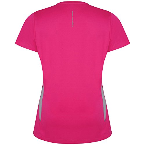 Dare 2b Camiseta de Manga Corta Modelo Reform II Para Mujer Cyber Pink
