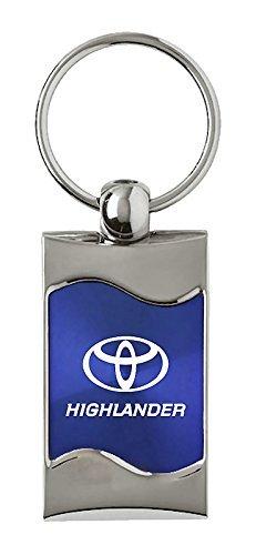 Toyota Highlander Rectangular Blue Fob INC Au-Tomotive Gold