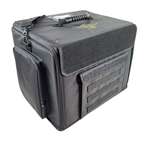 Battle Foam P.A.C.K. 720 Molle Pluck Foam Load Out Miniatures Case (Black)