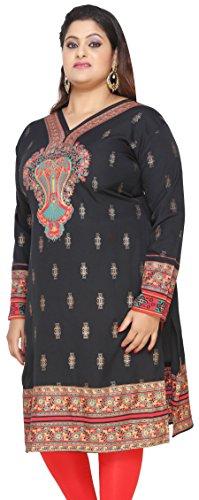 54c1cf5b3e Maple Clothing Plus Size Women s Dress Indian Tunics Kurti Long Top ...