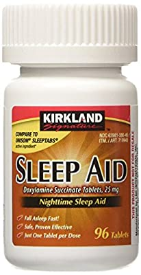 Kirkland Signature Sleep Aid Doxylamine Succinate