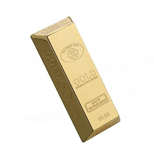 Mini cenicero o Mini caja joyero de bolsillo lingote de oro Mini Gold Bullion Ashtray PAUL ZENG