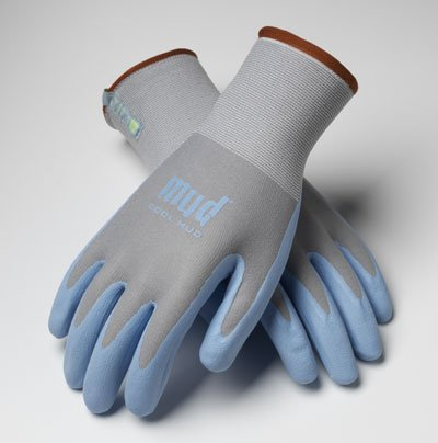 (Mud Glove Cool, Glacier Blue, Size M - Breathable & Water Repellent)