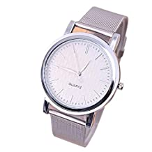 Women's Wrist Watches, Changeshopping Lady Simple Style New Classic Quartz Stainless Steel Watches