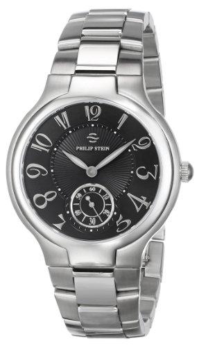 Philip Stein Unisex 42-FB-SS Stainless Steel Watch