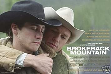 Image result for brokeback mountain poster