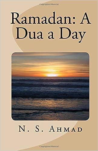 Amazon com: Ramadan: A Dua a Day (9781986514934): N  S