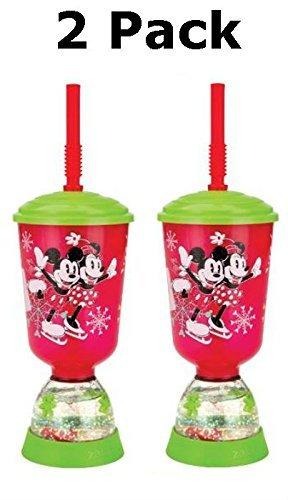 Zak diseños de Mickey y Minnie Mouse paz & Joy vacaciones 9 oz Fun flotadores