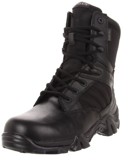 - Bates Men's GX-8 Gore-Tex S Zip Insulated Waterproof Boot, Black, 10.5 XW US