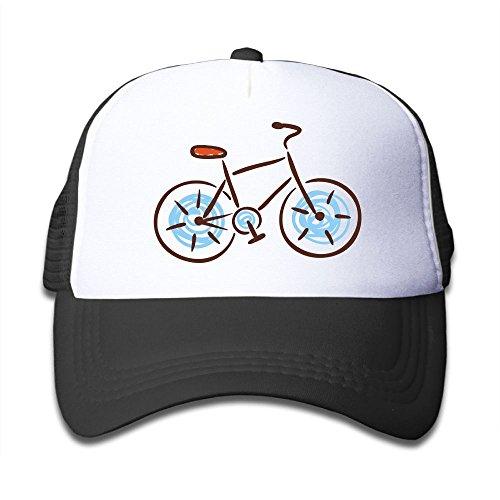 War Wolf Strapback Hat Boys&Girls Brilliant Bike Adjustable Unisex Mesh Hat ()