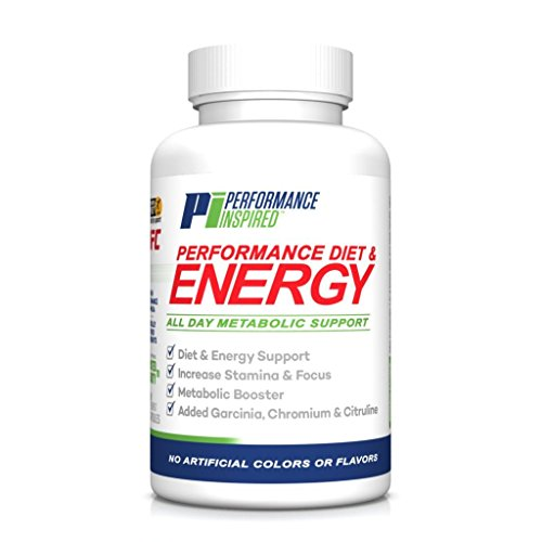 Performance Inspired Nutrition Performance Diet & Energy Supplement, 60 Count by Performance Inspired Nutrition