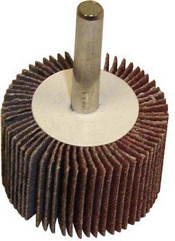 Flap Wheel 1.5' x 1' x 1/4' - 120 Grit