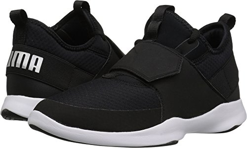 Black Trainer (PUMA Unisex-Kids Dare Trainer Sneaker, Black Silver, 1 M US Little Kid)